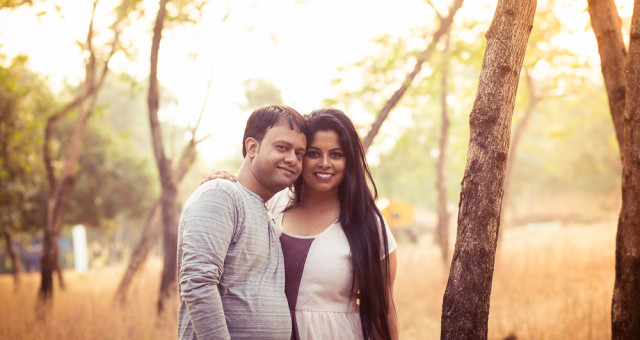 Pre Wedding Shoot Delhi, Couple Shoot Gurgaon | Shipra and Gaurav at Dumna Nature Reserve