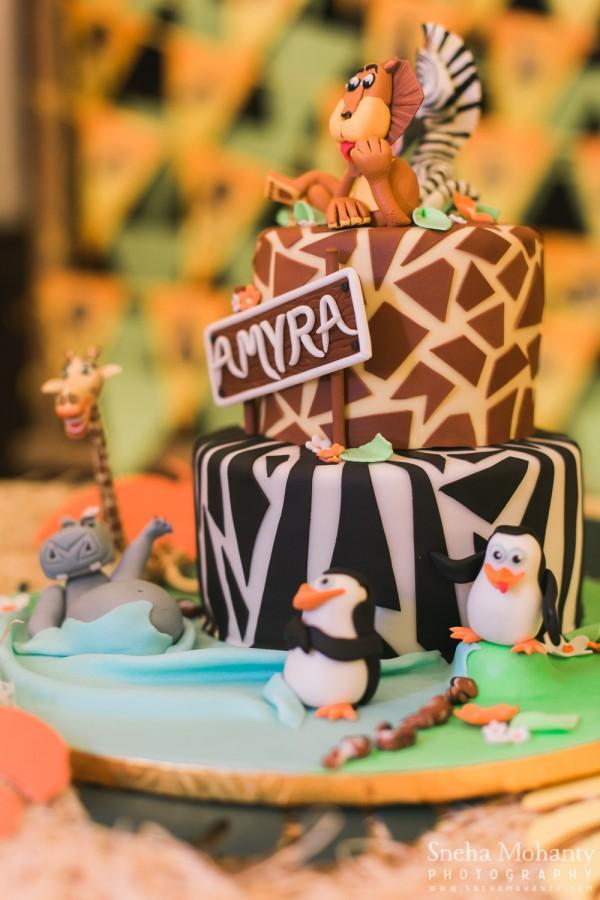 Madagascar Theme Birthday Party Gurgaon Delhi Ideas