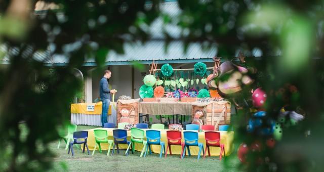 Madagascar Theme Birthday Party Gurgaon, Delhi, Birthday Party Ideas | Amyra Turns Two